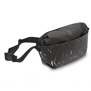 RE-Marble Fanny pack- Black & White