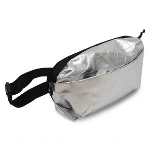 RE-Metal Waist Bag – Silver