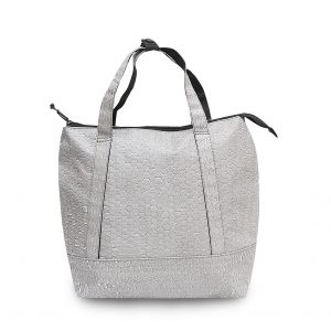 RE-Bubbles Backpack & handbag Light Grey