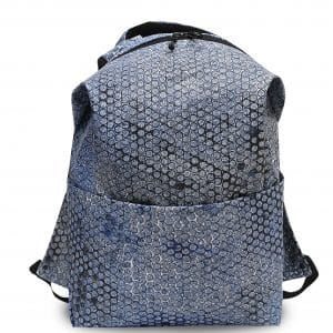 Bubble Wrap Backpack Blue