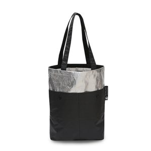RE-Mixed Tote Bag Black & Silver