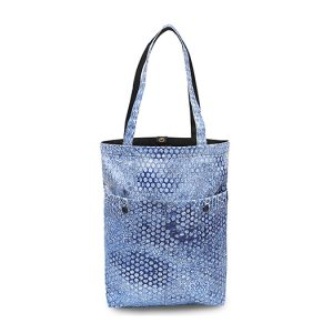 RE-Bubbles Tote Bag Blue