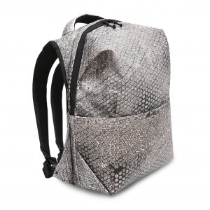RE-Bubbles Backpack Light Grey