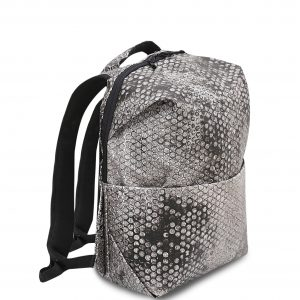 RE-Bubbles Backpack Dark Grey