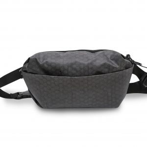 Waist Bag- Black Bubble Wrap